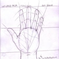 Hand Geometry by tinanewtonart