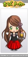 ChibiMaker Hungary by me~Hetalia-Bored! by LadyEdile