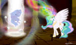 When Luna was banished by MoongazePonies