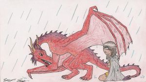 The Dragon and the Runaway by Xanthera