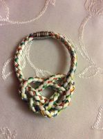 Colorful Heart Knot by Eadgyth