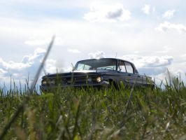 Hardtop in the grass by QuanticChaos1000