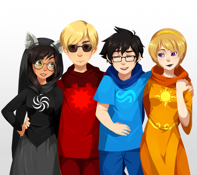 Homestuck by uixela