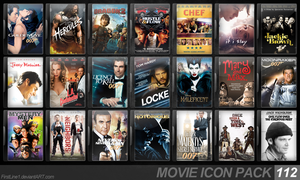 Movie Icon Pack 112 by FirstLine1