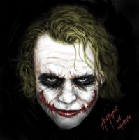 WHY SO SERIOUS by skyknightnd