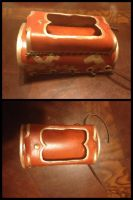 Steampunk iPhone Bracer Teaser by Mink-the-Satyr