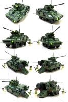 Light Weight Armour Vehicle 4 by SOS101