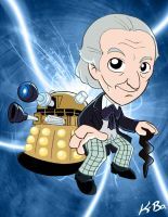 Doctor Who William Hartnell by kevinbolk