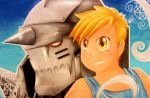 Alphonse Elric~ Soul and body by andropov97