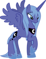 Wet Luna by Rusilis