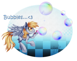 Bubbles! :: Deerpy Hooves :.. by Pauuh