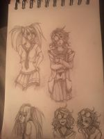 Some sketches by Andri-xxx