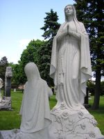 Mary Statue by SolStock