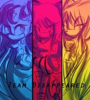 Team  Disappeared by Omiza-Zu