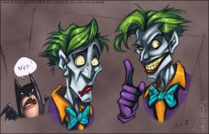 Joker Faces by zillabean