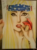 Stop Telephonin Meee-Lady Gaga by turanneth