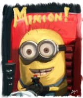 Despicable Minion by allin1der
