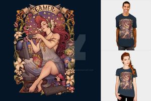 Gamer Nouveau Girl by Design-By-Humans