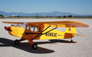Piper J3 Glow Engine by spunkyreal