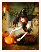 Witch Pumpkin? by Toefje-Kunst