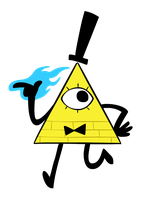 bill cipher by scribblespoon