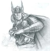 Thor by SteCarreri