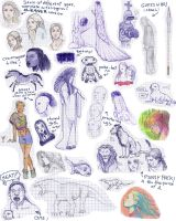 Doodle Collection 2006 by suthnmeh