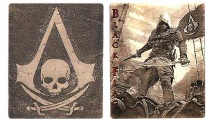 AC4 Black Flag S2 PS3 WoodBoxEditio W.in P. by WoodBoxEdition