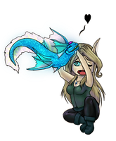 [Commission] Frostfeathers Chibi by ridia