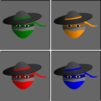 The 4 Mexican Ninjas by S0u1Seeker