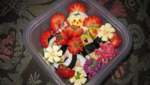 Super sweet bento for a sweet girl by Arachnoid