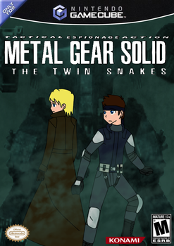 Metal Gear Solid: The Twin Snakes Game Cover mimic by HeadHunterXZI