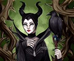 Maleficent by Nasuki100