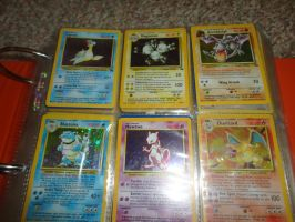 some of my shiny pokemon cards. by LOST09