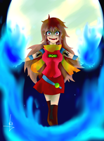The Blue Fire Boils my blood by MultiMouths