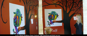 Art projectThe bird Rolf unf by hellel24