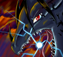 Sasuke Dragon by Slifer