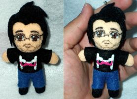 Markiplier Plush Keychain by TashaAkaTachi