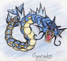 130 - Gyarados by JacobMace