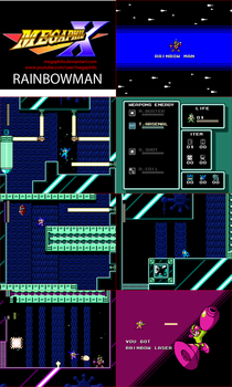 MMUnlimited RainbowMan Screens by MegaPhilX