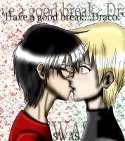 'Have a good break...Draco.' by kimagure-na-yousei