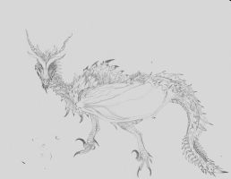 Wyvern by TheMacronian