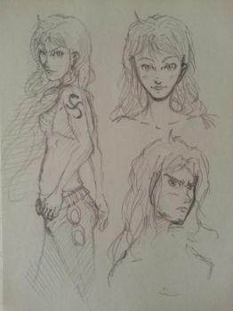 One piece: Nami sketch by HyundooMandoo