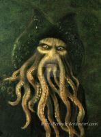 Davy Jones - a portrait by Berende