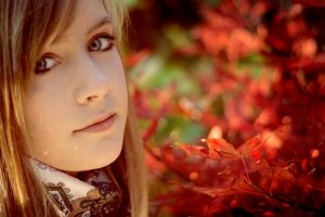 autumn lady by someonelovely