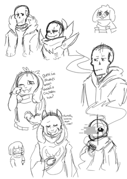 some doods by crispicroissant