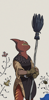 Broom Knight by AngusMcLeod