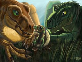 Raptor family by NetRaptor