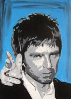 Gallagher Noel Gallagher by Mazzi294