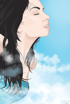 On Clouds by maumorado